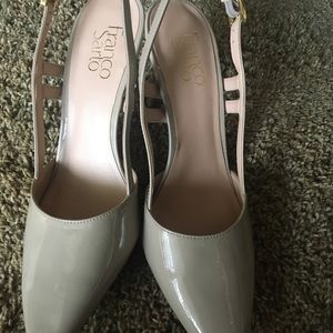 Shoes - Franco Marco beige women's shoe size 9M